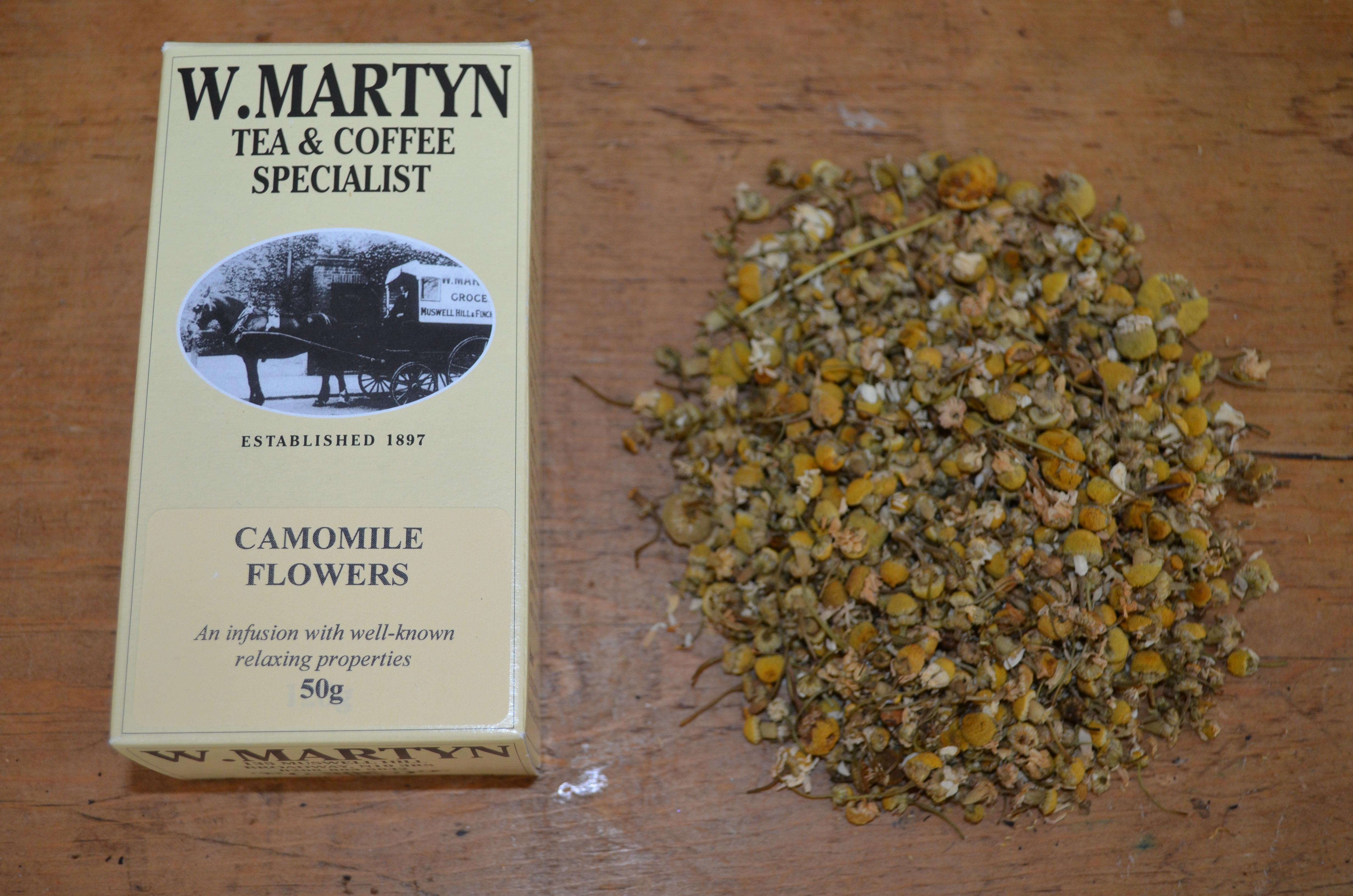 WMartyn Camomile Flowers Tea
