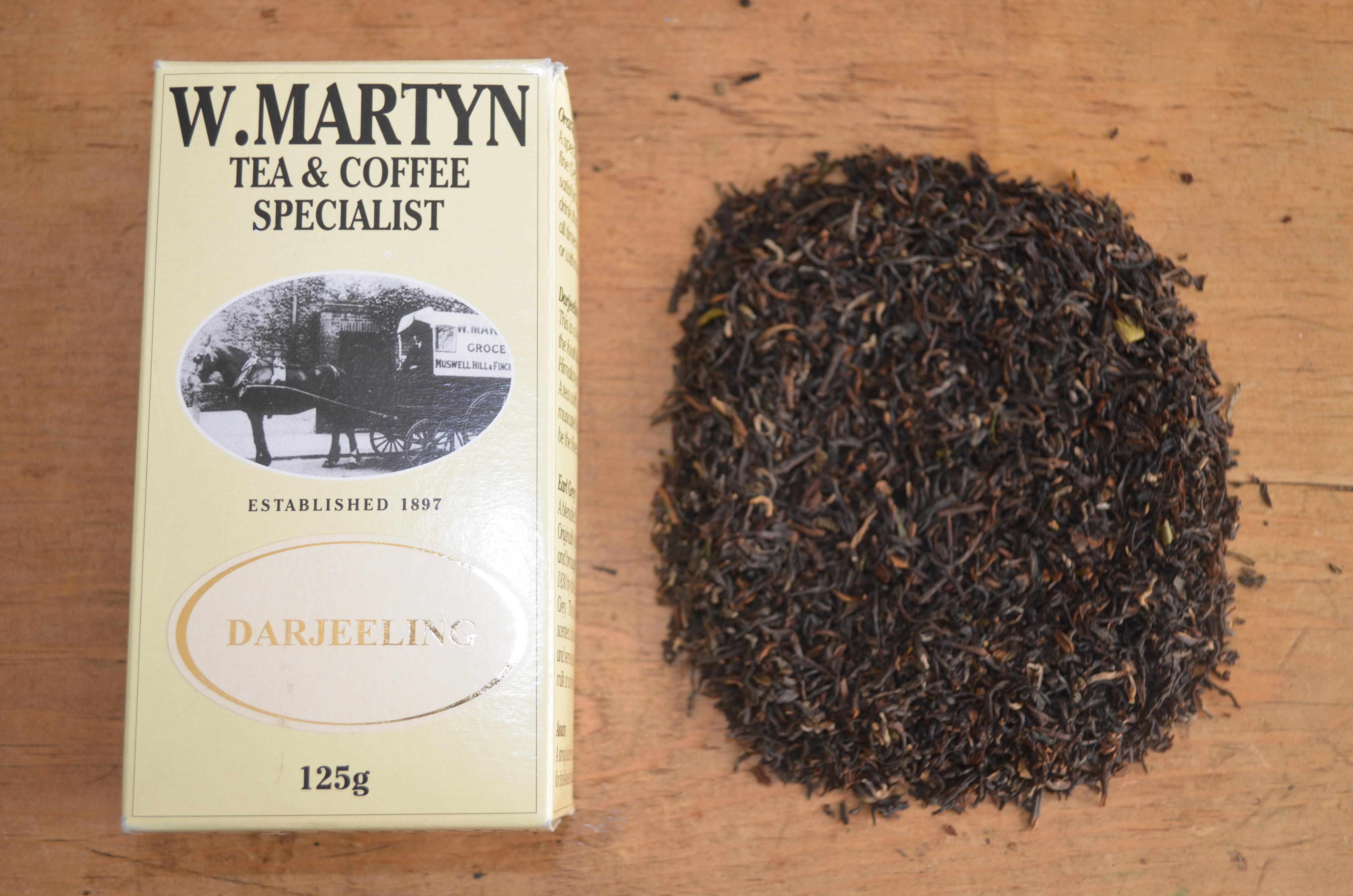 WMartyn Darjeeling Tea