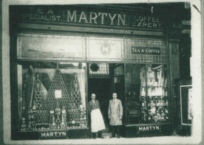 w-martyn-tea-and-coffee-standing-in-front-of-shop